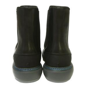No.6 ブーツ レザー 靴 メンズ サイドゴア ブラック STORM