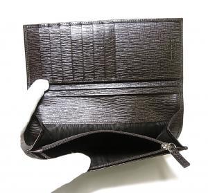 No.7 ペブルカーフ二つ折長財布(フォンデンテ)