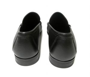 No.4 靴 メンズ レザー RAYO(ブラック)7.5(日本サイズ約26cm EEE)