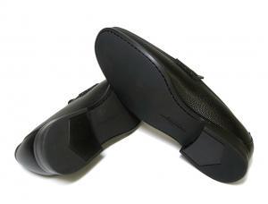 No.5 靴 メンズ レザー RAYO(ブラック)7.5(日本サイズ約26cm EEE)