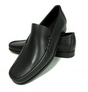 No.7 靴 メンズ レザー RAYO(ブラック)7.5(日本サイズ約26cm EEE)