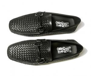 No.2 靴 メンズ イントレチャートレザー ROUND (ブラック) 6.5(日本サイズ約25cm EEE)
