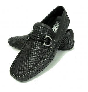 No.7 靴 メンズ イントレチャートレザー ROUND (ブラック) 6.5(日本サイズ約25cm EEE)