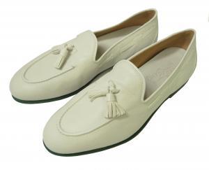 No.2 レザー シューズ 靴 (ホワイト) メンズ RIVA