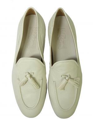 No.6 レザー シューズ 靴 (ホワイト) メンズ RIVA