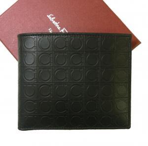 サルヴァトーレフェラガモ 財布 バイカラー ガンチーニモノグラム