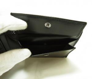 No.5 財布 メンズ 二つ折(ブラック)