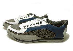 No.3  <訳あり・アウトレット>スニーカー 靴  メッシュ ファブリック PORTOS (ホワイト)7.5サイズ