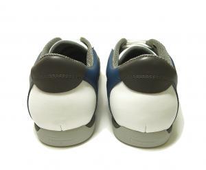No.4  <訳あり・アウトレット>スニーカー 靴  メッシュ ファブリック PORTOS (ホワイト)7.5サイズ