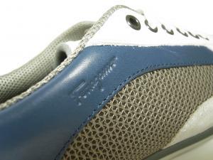 No.7  <訳あり・アウトレット>スニーカー 靴  メッシュ ファブリック PORTOS (ホワイト)7.5サイズ