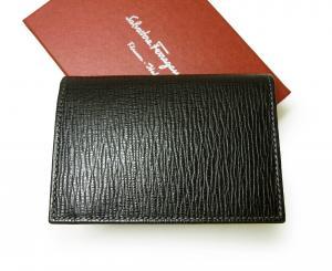 No.2 カードケース カーフ (ブラック)