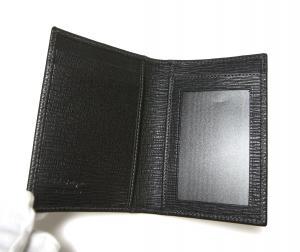 No.3 カードケース カーフ (ブラック)