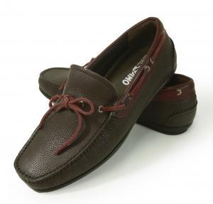 No.2 靴 スリッポン デッキシューズ ボート メンズ ブラウン  MACK