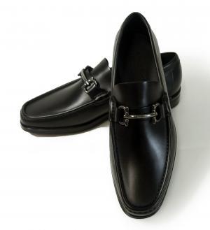 サルヴァトーレフェラガモ 靴 メンズ レザー MORRICE(ブラック) 8(日本サイズ約26.5cm) MainPhoto