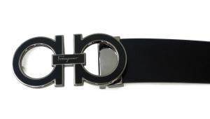 No.3 ベルト メンズ 長さ調整可能(ブラック) 115cm