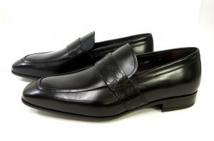 No.2 靴 シューズ メンズ レザー ビジネス フォーマル GOLIATH (ブラック) 8(日本サイズ約26.5cm)