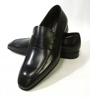 No.3 靴 シューズ メンズ レザー ビジネス フォーマル GOLIATH (ブラック) 8(日本サイズ約26.5cm)