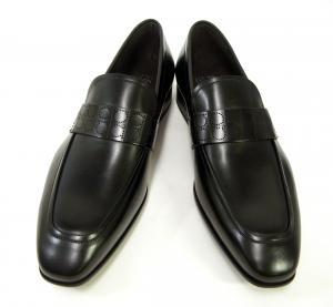 No.4 靴 シューズ メンズ レザー ビジネス フォーマル GOLIATH (ブラック) 8(日本サイズ約26.5cm)