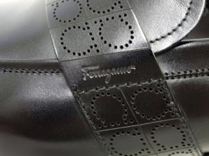 No.6 靴 シューズ メンズ レザー ビジネス フォーマル GOLIATH (ブラック) 8(日本サイズ約26.5cm)