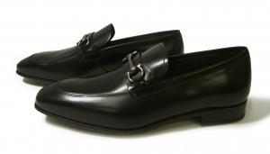 No.2 靴 モカシンシューズ  メンズ レザー ビジネス ブラック 7サイズ(日本サイズ約25.5cm) GIANT