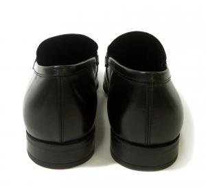 No.4 靴 モカシンシューズ  メンズ レザー ビジネス ブラック 7サイズ(日本サイズ約25.5cm) GIANT