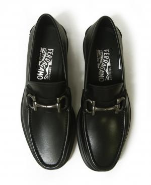 No.4 靴 モカシン シューズ メンズ レザー ビジネス フォーマル GLASGOW 7(日本サイズ約25.5cm)