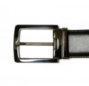 No.2 ベルト メンズ 長さ調整可能 (ブラック) 115cm
