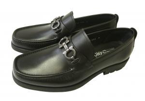 サルヴァトーレフェラガモ 靴 モカシン ローファー シューズ メンズ ビット DAVID レザー