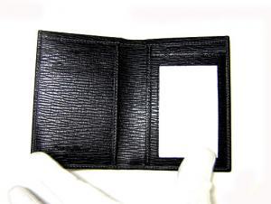 No.4 カードケース カーフ (ブラック)