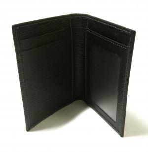 No.3 <訳あり・アウトレット>カードケース パスケース(ブラック)