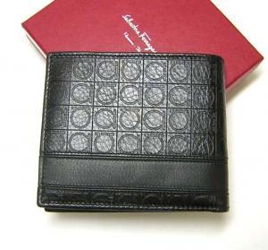 No.2 財布 メンズ 二つ折 (ブラック)
