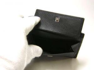 No.5 財布 メンズ 二つ折 (ブラック)