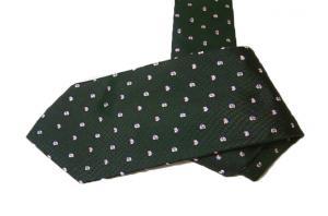 サルヴァトーレフェラガモ ネクタイ (蝶) シルク100% グリーン