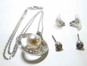 No.3 ネックレス ペンダント  ピアス セット Appear