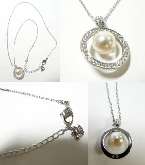 No.4 ネックレス ペンダント  ピアス セット Appear