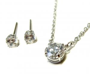 No.6 ネックレス ペンダント  ピアス セット Attract