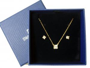 No.2 ネックレス ペンダント ピアス セット Attract Square