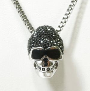 No.3 ネックレス ペンダント メンズ スカル ドクロ Taddeo Skull