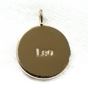 No.5 ペンダント ネックレス Zodiac 星座 獅子座 しし座 Leo レオ