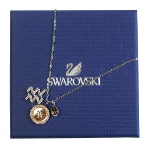 スワロフスキー ペンダント ネックレス Zodiac 星座 水瓶座 みずがめ座 Aquarius