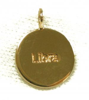 No.5 ペンダント ネックレス Zodiac 星座 天秤座 てんびん座 Libra