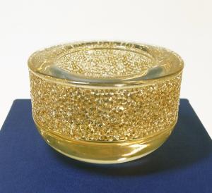 スワロフスキー ティーライトホルダー Shimmer キャンドルホルダー ゴールド