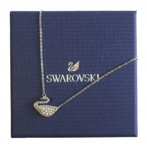 スワロフスキー ネックレス ペンダント Iconic Swan スワン 白鳥