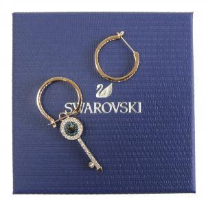 スワロフスキー ピアス フープ Swarovski Symbolic Evil Eye イーヴィルアイ