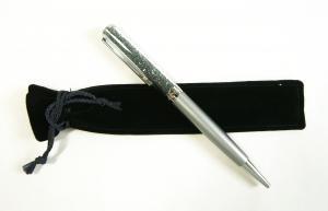 スワロフスキー ペン ボールペン Crystalline ライトグレー クリスタリン 筆記具