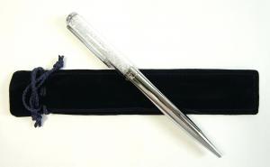 スワロフスキー ペン ボールペン Crystalline クリスタリン 筆記具 Chrome Plated