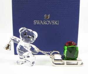 スワロフスキー 置物 フィギュア クリスタル クリスベア Krisベア 2019年クリスマス限定品