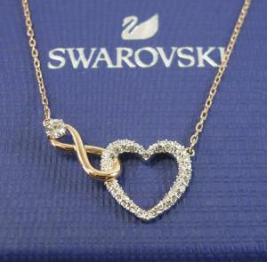 スワロフスキー ネックレス ペンダント ハート インフィニティ Infinity Heart