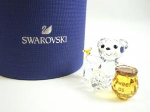 スワロフスキー 置物 フィギュア クリスタル クリスベア Krisベア Sweet as Honey