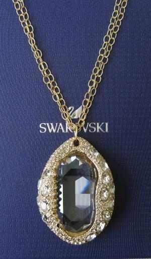 スワロフスキー ネックレス ペンダント Shell シェル 貝 貝殻